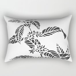 Coffee Plant Rectangular Pillow