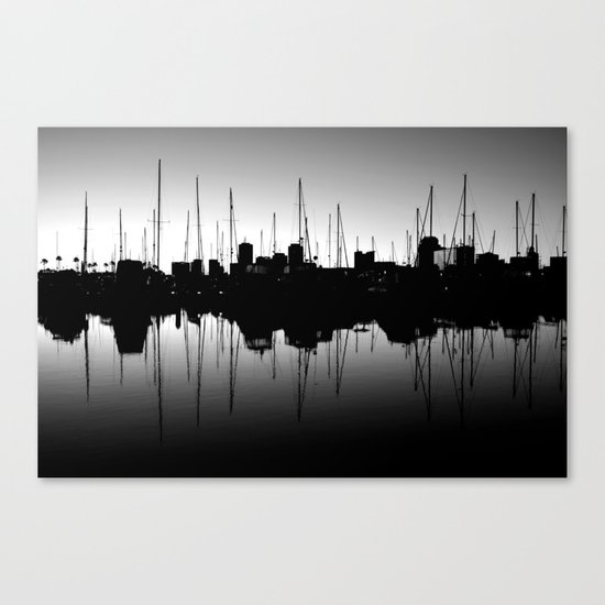 Marina Pulse Canvas Print