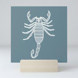Scorpion Illustration Mini Art Print