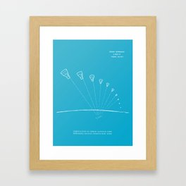 Gemini Capsule Tracking Framed Art Print