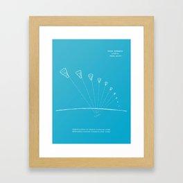 Gemini Capsule Tracking Framed Art Print