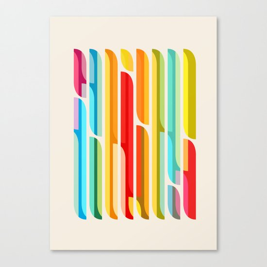 Test Tube Tune Canvas Print