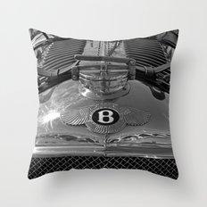1928 Bentley - MP 2219 Throw Pillow