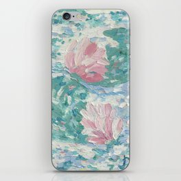 Ninfee. Waterlilies. Nynphéas iPhone Skin