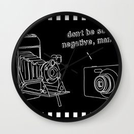 Negativity Wall Clock