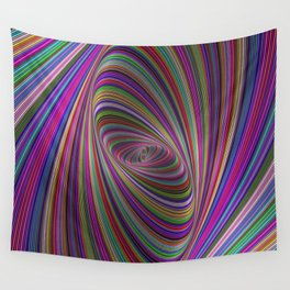 Psychedelic colors Wall Tapestry