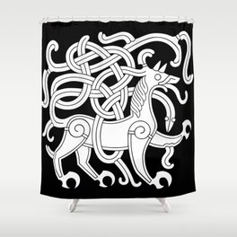Mammen Style Ornament IV Shower Curtain