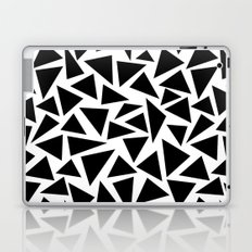 Black and White Triangle Laptop & iPad Skin