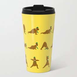 Yoga Bear - Classic Travel Mug