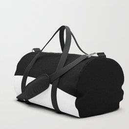 White Circle #minimalism #kirovair #minimal #design Duffle Bag