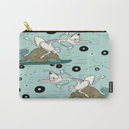 tortoise and the hare skater style Carry-All Pouch