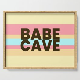 Babe Cave Creamy Spring Serving Tray