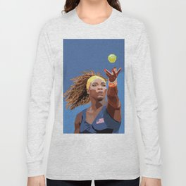 American Tennis Champion Long Sleeve T-shirt