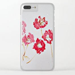 In The Lover's Garden Clear iPhone Case