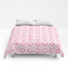 The Nik-Nak Bros. Strawbury Milk Comforters