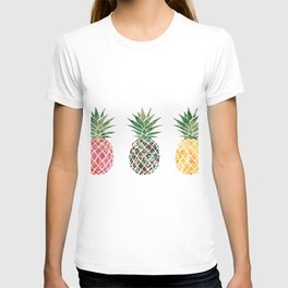 fun pineapple design T-shirt
