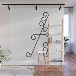 """Print Letter """"A"""" in beautiful design Fashion Modern Style Wall Mural"""