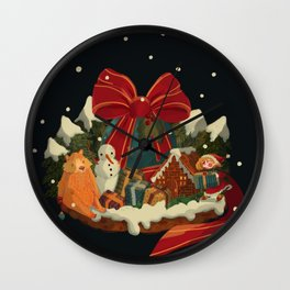 Christmas Island Wall Clock
