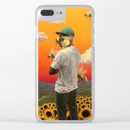 Flower Boy- Tyler, the Creator Clear iPhone Case
