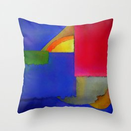 Abstract Composition 100 Throw Pillow