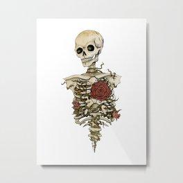 MILTON Metal Print