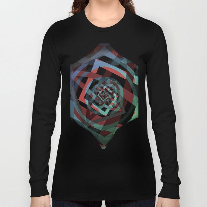 Celtic Droste Pattern Long Sleeve T-shirt