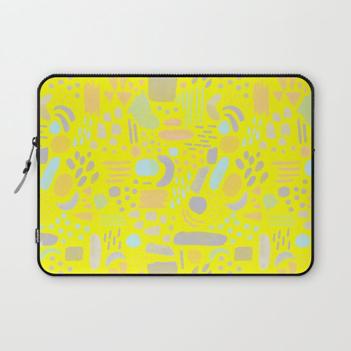 Dancing shapes Laptop Sleeve