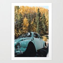 Fall Bug Art Print