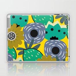 Fresh lemons and flowers Laptop & iPad Skin