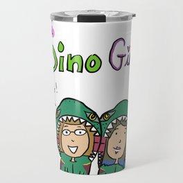 The Dino Girls Travel Mug