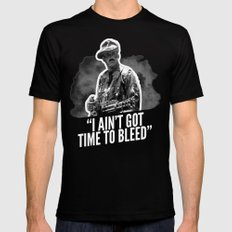 Badass 80's Action Movie Quotes - Predator Black Mens Fitted Tee X-LARGE