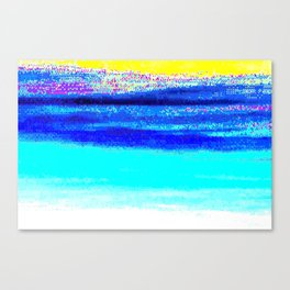 glitch nova oscar Canvas Print