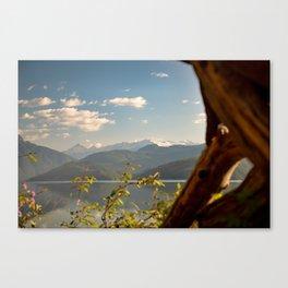 Duncan Lake Four Canvas Print