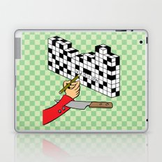 RAZOR CROSSWORD Laptop & iPad Skin