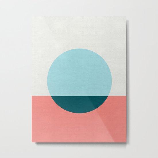 Abstract and minimalist pattern I Metal Print