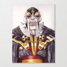 cyber saber toothed Canvas Print