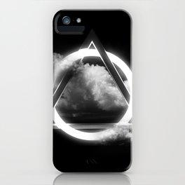Sacred Geometry - Trinity  06 iPhone Case