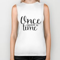 once upon a  time Biker Tanks featuring Once Upon a Time by bookwormboutique