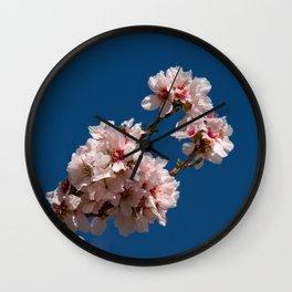 Spring Cherry Tree Blossoms - I Wall Clock