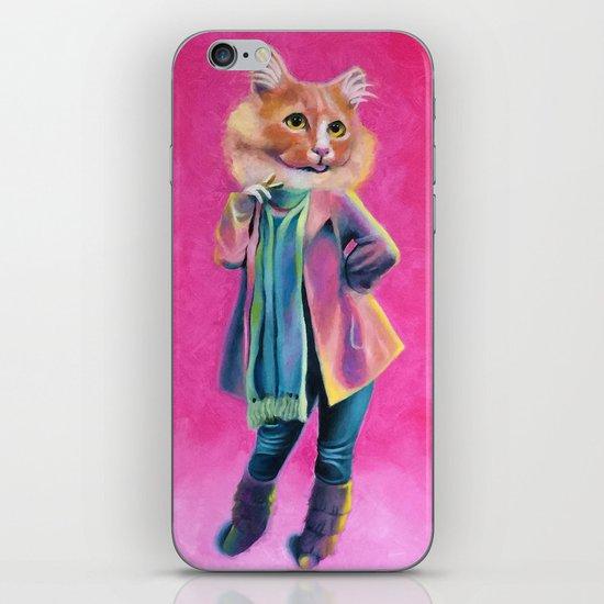 Disco Cat iPhone & iPod Skin