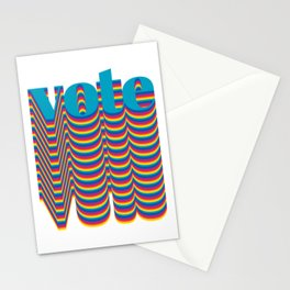 Get out the Vote Stationery Cards