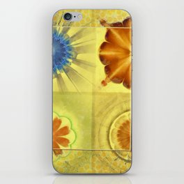 Didactic Rainbow Flower  ID:16165-120332-39891 iPhone Skin