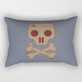 Paper Pirate Rectangular Pillow