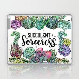 Succulent Sorceress Laptop & iPad Skin