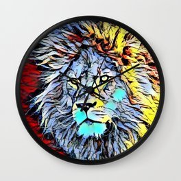 Color Kick Lion King Wall Clock