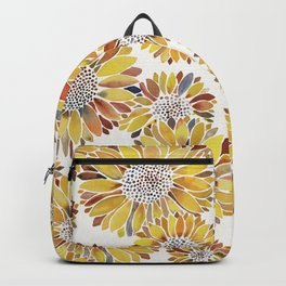 Sunflower Blooms – Yellow Backpack