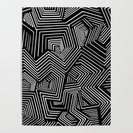Abstract Geometric #2 Poster
