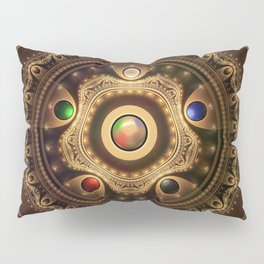 The Five Fractal Jeweled Elements of Qi Gong Pillow Sham