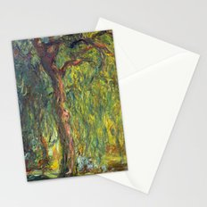 Claude Monet - Weeping Willow Stationery Cards