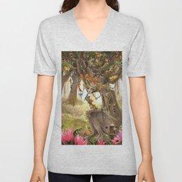 Forest Goddess Unisex V-Neck